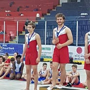 Competitive Gymnastics - Trampoline Tumbling