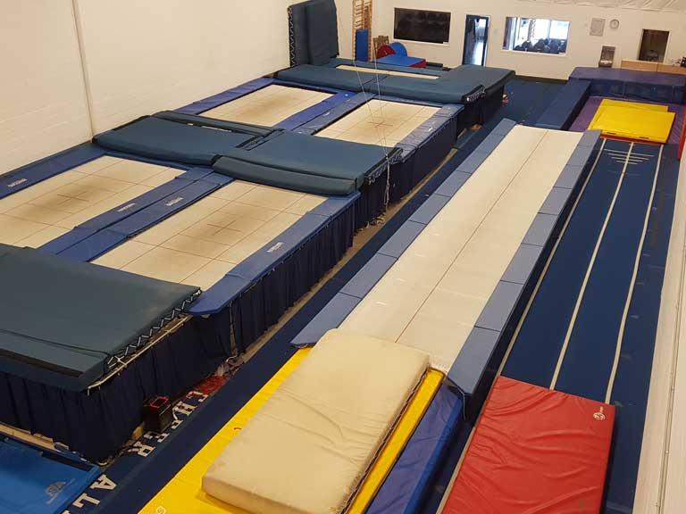 Osborne Academy of Acrobatics Facility Overhead